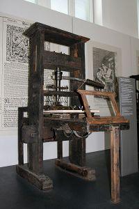 Matbaa makinesi - 1811